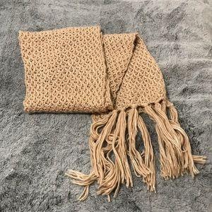 Steve Madden Knit Fringe Scarf